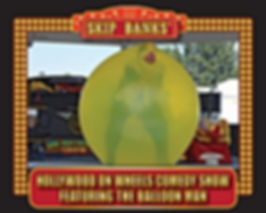 Skip Banks Balloon Man Promo with border