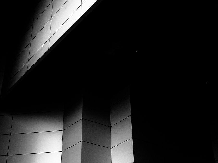 Canva - Black and Gray Building Illustra