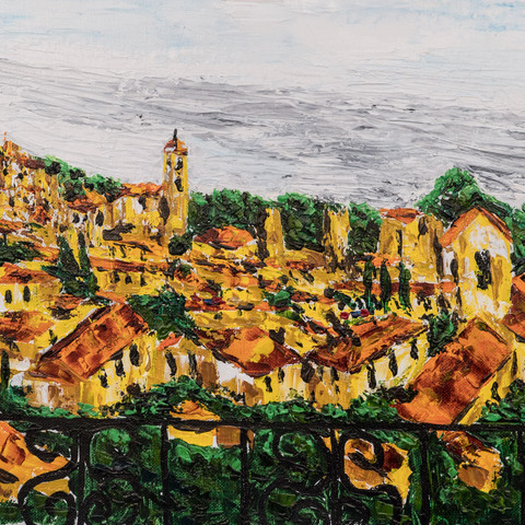 Tuscan hill town 1