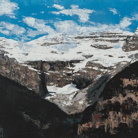 Glacier/mountain