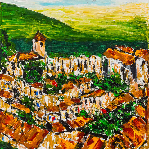 Tuscan hill town 2