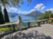 Castle of Vezio with ghosts, Lake Como.j