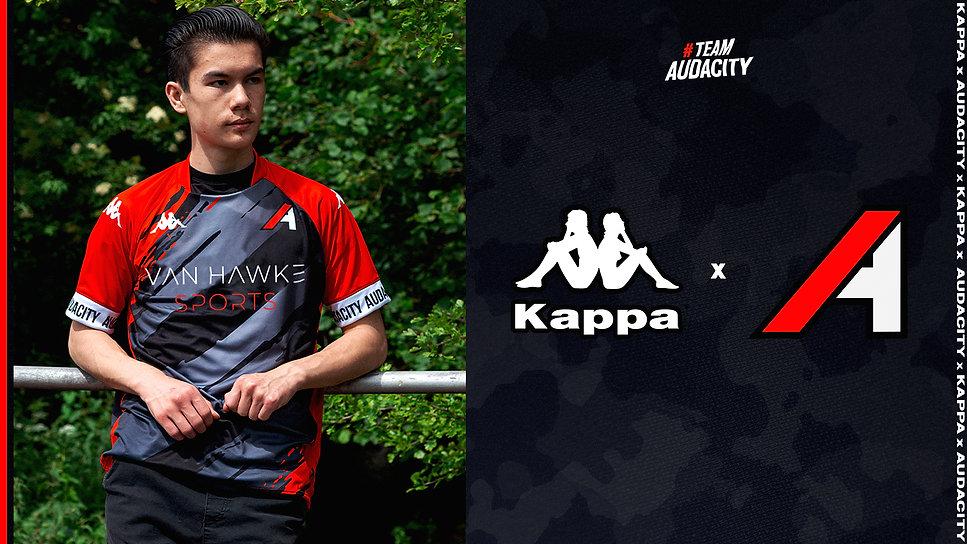 Audacity x Kappa variant 2 Van Hawke lar