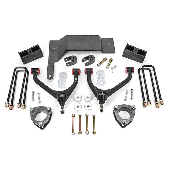 "2014-2016 SILVERADO/SIERRA 1500 2WD/4WD 4"" LIFT KIT - CAST STEEL SUSP."