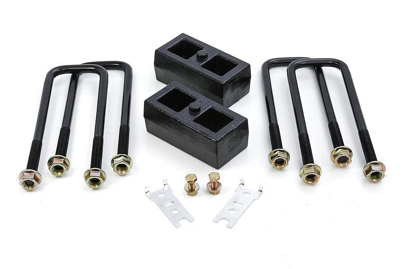 """Toyota Tundra/Tacoma 2"""" Rear Block Kit"""