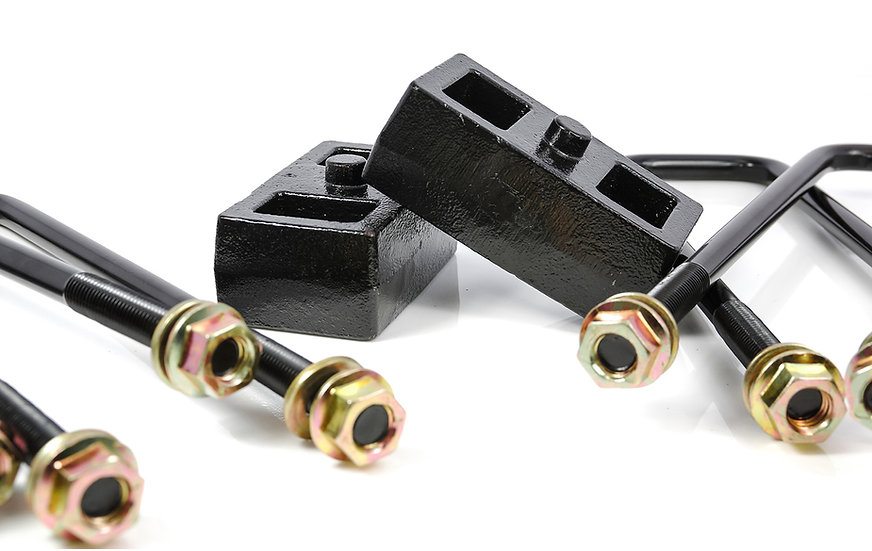 """2011-2020 Silverado/Sierra 2500/3500 HD 2"""" Rear Block Kit"""