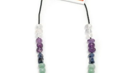 Chakra Chip Necklace - 16-18 Inches