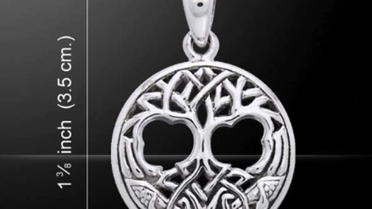 Tree of Life Pendant with Chain *Sterling Silver*