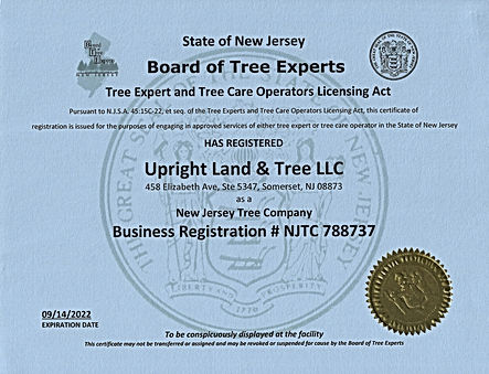 New Jersey Tree Company (NJTC)
