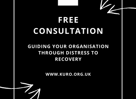 Free Consultation: Guiding your organisation through distress to recovery