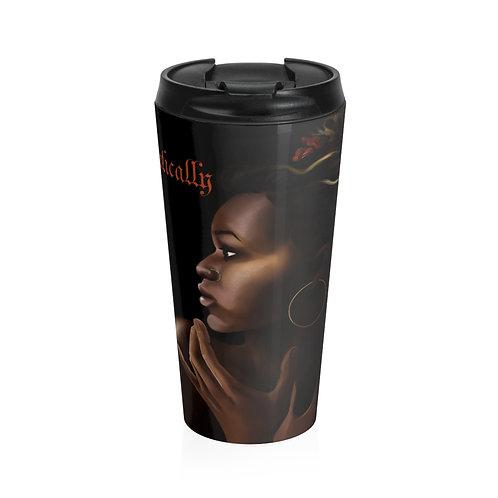 """Unapologetically Black"" Travel Mug"