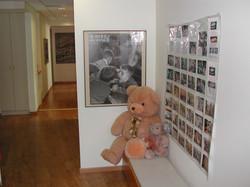 Clinic- corridor seating