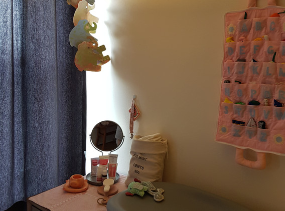 Babys changing stand