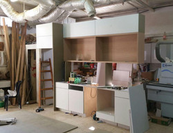 Kitchen at the Carpenters