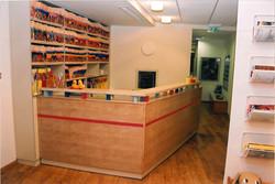 Clinic- reception desk