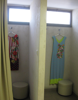 Boutique- fitting booths