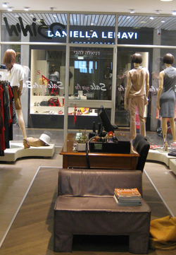 Boutique- view from inside
