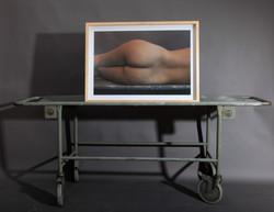 Display on stretcher
