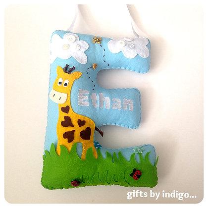 Giraffe Huge Initial