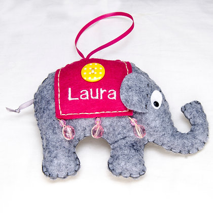 Personalised Carnival Elephant