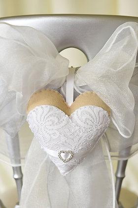 Bride Wedding Heart Keepsake