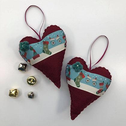 Heart of Christmas - Festive Stockings
