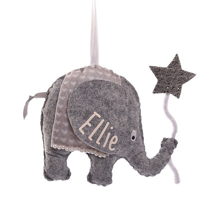 Personalised Elephant with Star