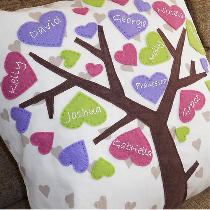 Family Tree Cushion Cover - Tutti Fruity