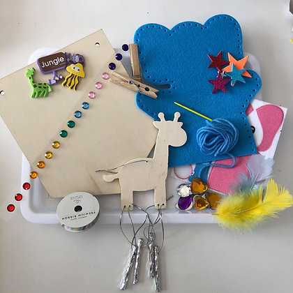 Animal themed craft kit