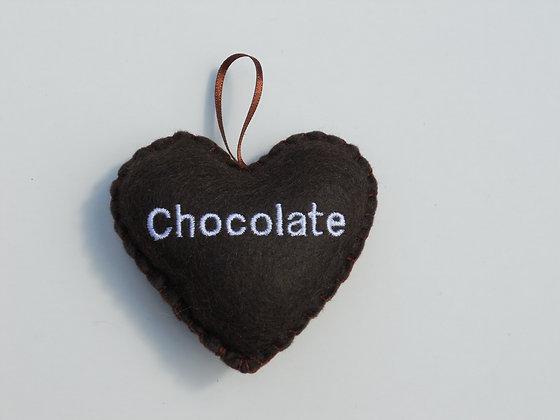 Chocolate Hanging Hearts