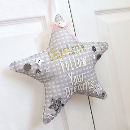 Personalised Follow Your Dreams Star