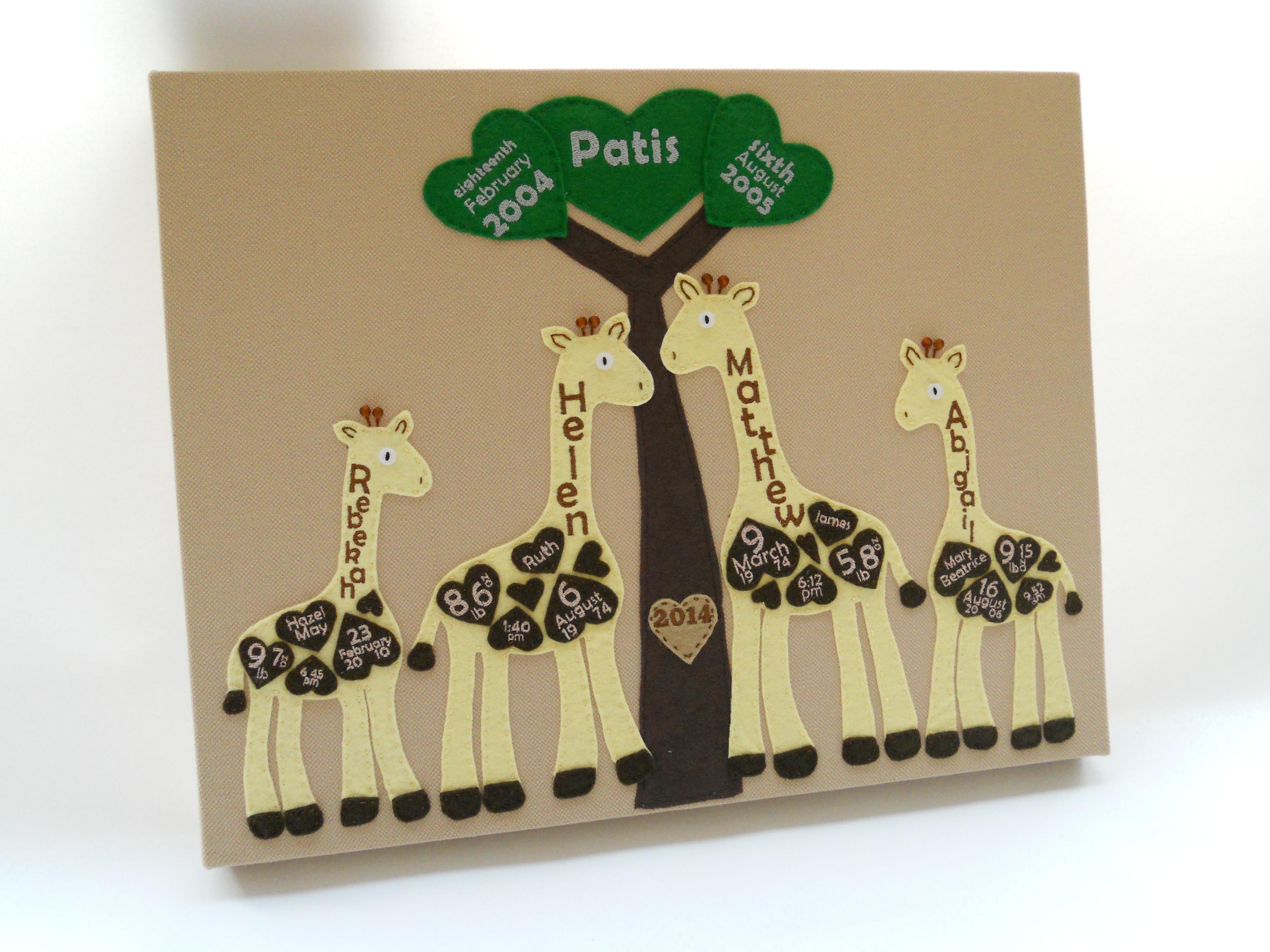 Giraffes Canvas