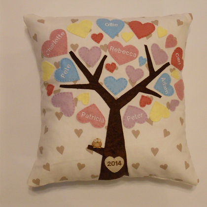 Family Tree Cushion Cover - Sugar Lillies