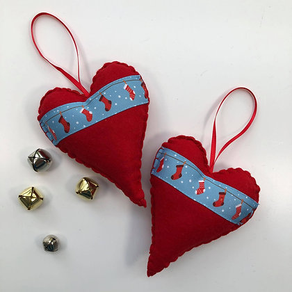 Heart of Christmas - Stocking Line
