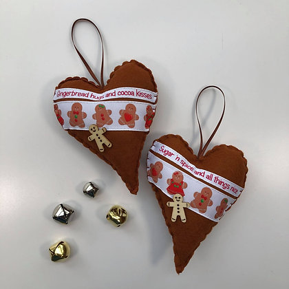 Heart of Christmas - Gingerbread