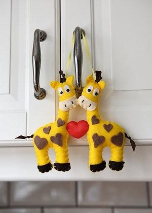 Giraffe Lovebirds