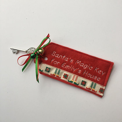 Santa's Magic Key - Personalised