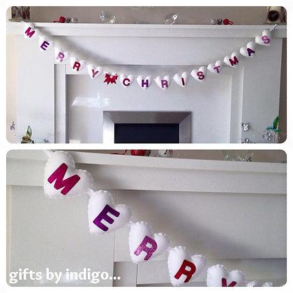 Merry Christmas Garland - Berry Bliss
