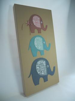 Elephant Baby Canvas