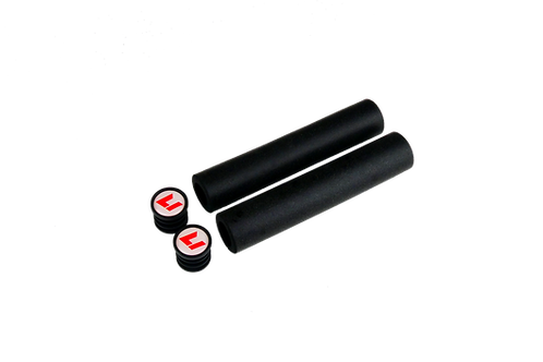 Factory Grips Black / white-RED