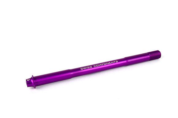 C10 Axle Rear purple 172mm M12x1.5