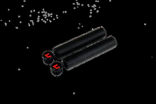 Factory Grips Black / black-RED