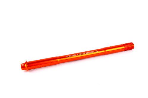 C10 Axle Rear orange 172mm M12x1.5