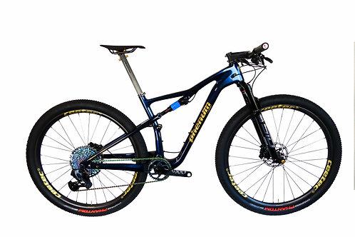 Bike phenum C10 by ceetec® blue purple - gold
