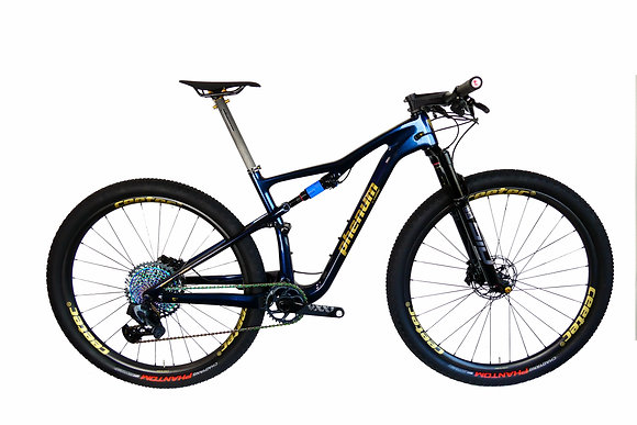 Bike phenum C10 by ceetec® blue purple - gold
