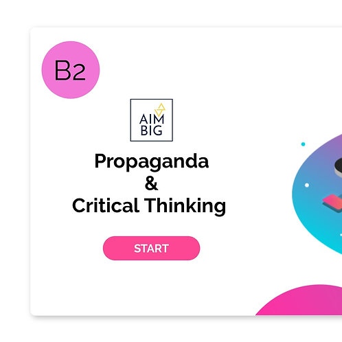 Propaganda & Critical Thinking Interactive Lesson