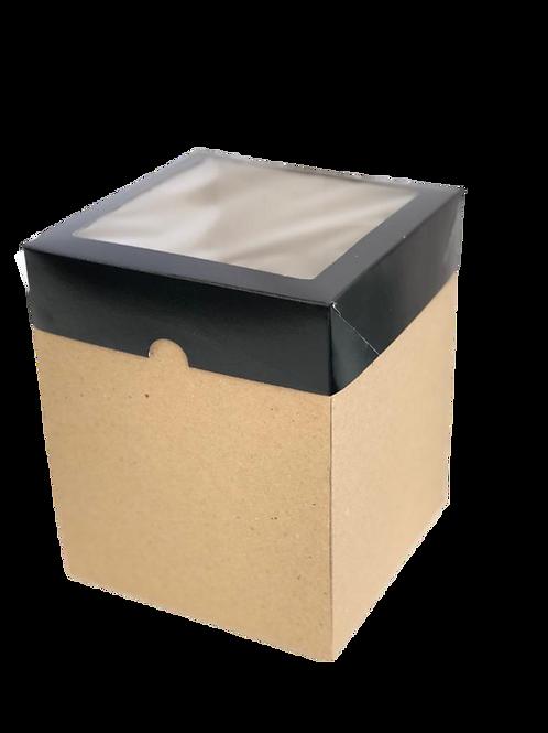 Caixas Micro Ondulado com visor MVB15 (15x15x18cm) - (20 unid)