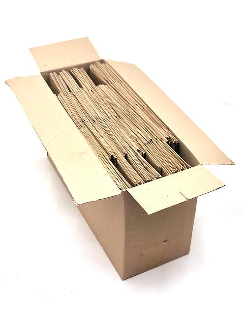 50 Sacolas AT30 Delivery - 30x35x30cm: Alça Torcida - ecológica