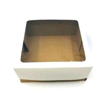 Caixas Micro Ondulado MVT25 ( 25x25x10cm) - Com Visor( 20 unid)