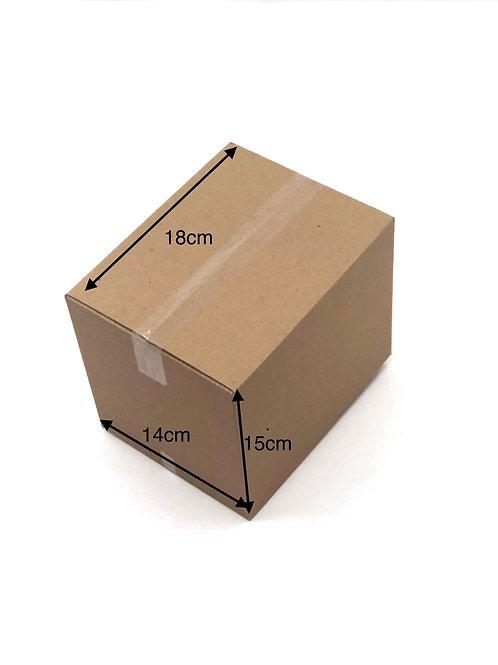 Caixas Micro Ondulado para transportes e mudanças n°2 (18x14x 15cm) -